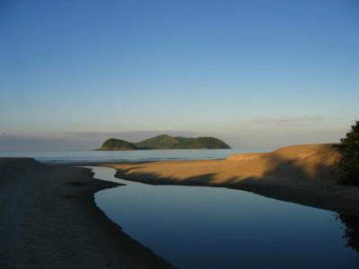 barra seca e ilhas