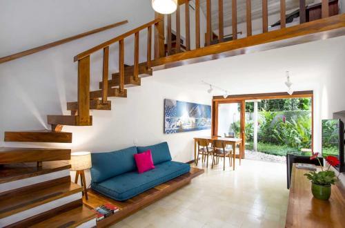 Sala Loft Superior com escada